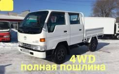 Toyota ToyoAce. Toyota Toyoace 4WD, двухкабинник + борт 1,5 тонны, 3 000куб. см., 1 500кг., 4x4