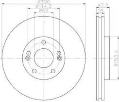 Диск тормозной с покрытием PRO | перед | Textar 92166503
