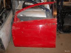Дверь передняя левая на Toyota Yaris 2005-2011