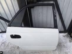 Дверь задняя правая Toyota Carina AT192 5AFE