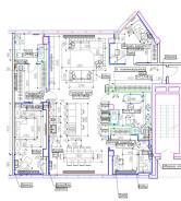 4-комнатная, улица Станюковича 46. Эгершельд, частное лицо, 167,0кв.м. План квартиры