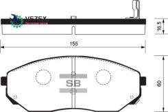 Колодки тормозные дисковые, передние Sangsin Brake SP1153