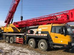 Palfinger-Sany. Автомобильный кран Sany Palfinger STC500, 50 тонн, 9 726куб. см., 43,50м.