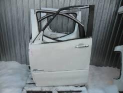 Дверь передняя левая Nissan Serena, C26 белая с накл