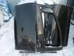 Дверь задняя левая Toyota Vitz, SCP90 черн