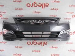 Бампер передний Hyundai Solaris 2014-2017