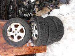 Комплект литых дисков на зимней резине
