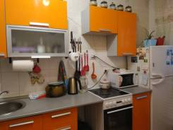 1-комнатная, улица Ватутина 20. 64, 71 микрорайоны, агентство, 36,0кв.м. Интерьер