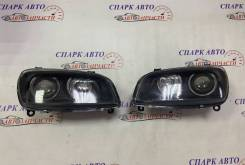 Фары тюнинг Toyota RAV 4 10 ангельские глазки, линза, темные 94-00