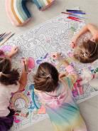 Детские ростомеры, огромные авторские раскраски, маркеры