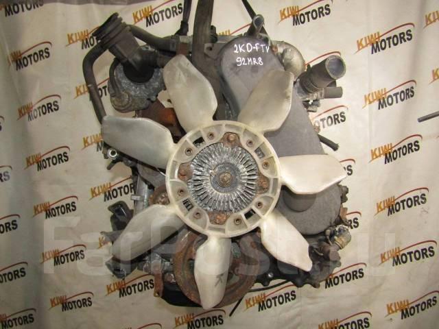 Контрактный двигатель Тойота Хайс 2,5 TDI 2KD-FTV