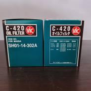 Масляный фильтр VIC C-420 SH01-14-302A