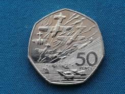 Великобритания 50 центов 1994 г.