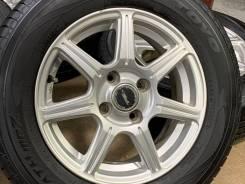 Toprun R14 4*100 5.5j et45 + 165/70R14 Dunlop Winter Maxx WM01 japan