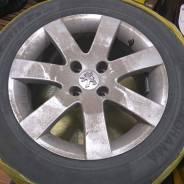 Колеса на оригинальных дисках Пежо 308