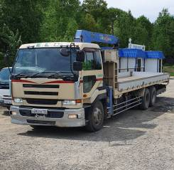Nissan Diesel. Продаётся грузовик с крановым манипулятором , 18 000куб. см., 15 000кг., 6x2