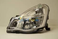 Фара левая Nissan Sylphy 06-12/Almera 13- под корр бирюзовый плавничек