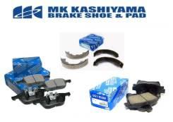 Колодки тормозные передние (с антискрипной пластиной) Kashiyama D11130MH