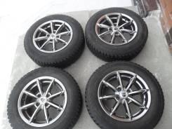 Зимние колеса: шины 175/70R14 Yokohama на литье КиК 4x100.