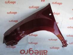 Крыло переднее левое красное Renault Duster 2011+