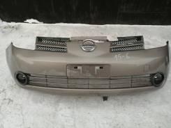 Бампер передний в сборе на Nissan Note E11 до рестайлинг