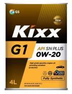Kixx G-1. 0W-20, синтетическое, 4,00л.