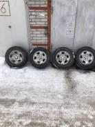 Продам комплект колёс Yokohama ice guard на дисках от Субару форестер