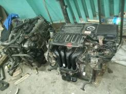 Двигатель в сборе mazda demio ZY, ZJ