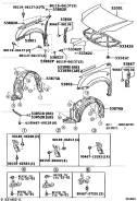 53811-05040 крыло правое Avensis250