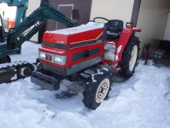 Yanmar F215. Трактор 21 лс, 3 цилиндра, 4 wd, фреза, 21,00л.с.