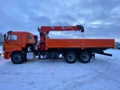 Fassi. Камаз 65115 кму 7 тонн MVF S1556 Манипулятор, 6x4. Под заказ
