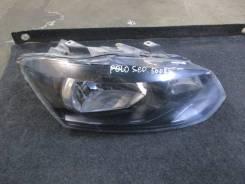 Фара правая VW Polo (Sed RUS) 2011> (ДО 04.05.2015 ГОДА 6RU941016)