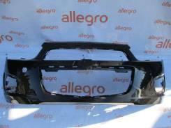 Бампер передний темный Chevrolet Aveo T300 2011+