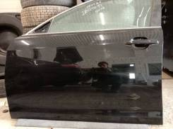 Дверь передняя левая Toyota Camry ACV40 2AZ-FE 2007 цвет черный 202
