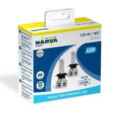 Комплект светодиодных ламп Narva 18033 LED H7 PRL2 12B/24B 6500K