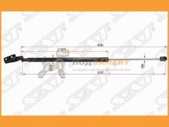 Амортизатор крышки багажника Mazda 3 (HB) 13- LH SAT / Stbhn963620, левый