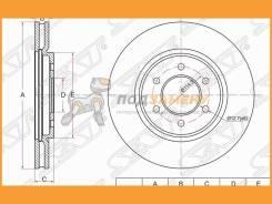Диск тормозной перед Nissan Navara 04- Pathfinder R51 05- SAT / ST40206EB300