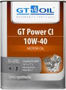 Масло Gt Power Ci Sae 10w-40 Api Ci-4/Sl П/С 4 Л GT OIL