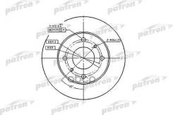 Диск Тормозной Patron арт. PBD2591