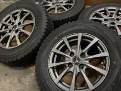 Exceeder R14 4*100 5.5j et38 + 185/70R14 Dunlop Winter Maxx WM01 Japan