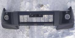 Бампер передний оригинал Паджеро 4 2006-2011