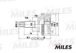 Шрус Наружний (Abs) Miles арт. GA20127 Ga20127 Miles GA20127