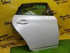 Дверь правая задняя Toyota Prius ZVW30 цвет 070 2012г.