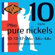 Струны для электрогитары, никелевое покрытие, 10-46 PN10 STRINGS NICKEL