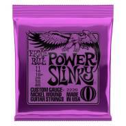Струны для электрогитары Nickel Wound Power Slinky (11-14-18p-28-38-48), Ernie Ball 2220