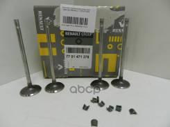 Клапанов Впуск! 4шт Renault Laguna 1.4/1.6 00 Renault арт. 7701471378 Ren7701471378_к-Кт