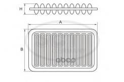 Фильтр Воздушный Sb-3250 (17801-22020( (A-1003) Toyota (20шт/Кор) SCT арт. sb3250