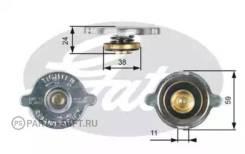 Крышка расширительного бачка Gates RC116 RC116