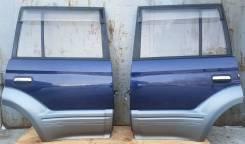 Дверь задняя боковая правая/левая цвет К14 на Land Cruiser Prado 90/95