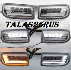 Фара противотуманная. Toyota Land Cruiser, FZJ100, HDJ100, HDJ100L, UZJ100, UZJ100L, UZJ100W